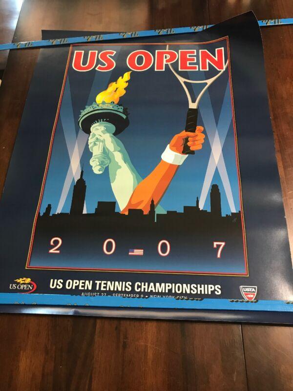2007 US Open RARE VINTAGE ORIGINAL Poster