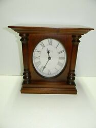 Howard Miller Mitchell 630-144 Mantel Quartz Clock With Dual Chime Cherry Wood
