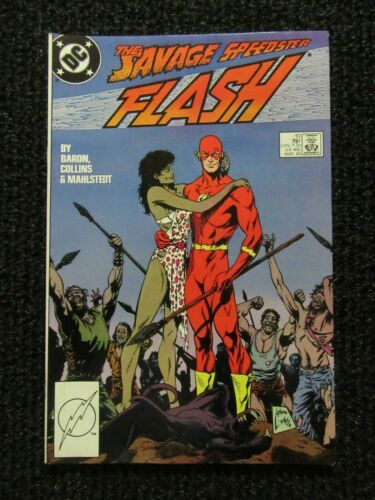 The Flash #10  March 1988  High Grade Book!!  Tight Glossy!!  See Pics!!