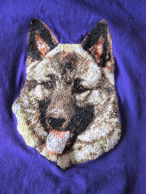 Embroidered Ladies Fleece Jacket - Norwegian Elkhound DLE2493  Sizes S - XXL