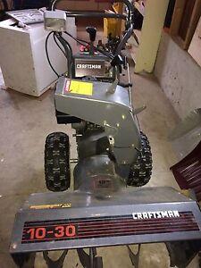 Craftsman snowblower 10 hp