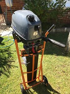 Yamaha 6hp F6 4 stroke outboard Mount Lawley Stirling Area Preview
