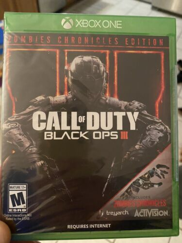Call Of Duty Black Ops 3 Zombie Chronicles Brand New - $26.50