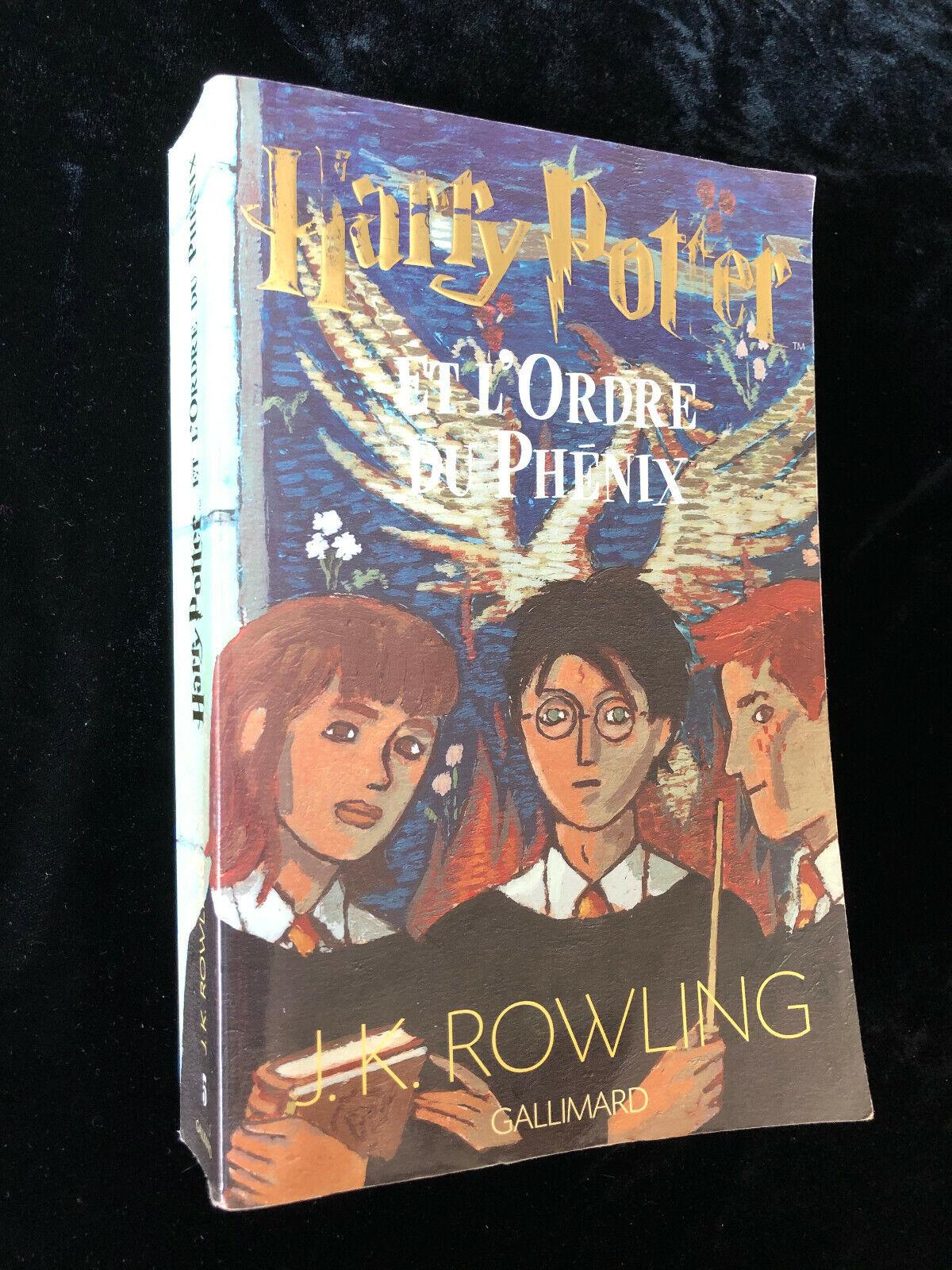 Harry Potter Tome 5 - Harry Potter Et L'ordre Du Phénix de J-K Rowling