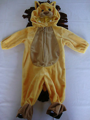 NEW Halloween Theater Koala Kids Full Lion Costume Yellow 3D Head 6M Months Baby](Baby Head Costume)