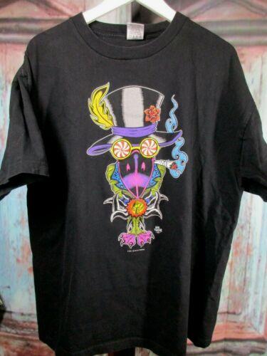 VTG Black Crowes XL Cosmic Friends Alan Forbes Tour Shirt Original 2001 LKNW