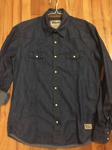 Mexx Chambray Brand Shirt