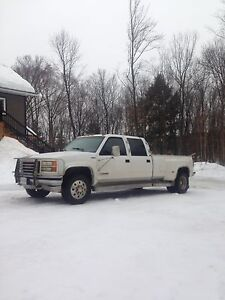 1997 GMC manual dually 4x4
