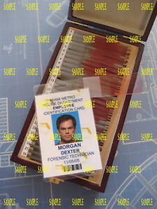 Dexter - Dexter Morgan - Miami Metro  I.D. Badge - Prop - Cosplay  - B3G1F