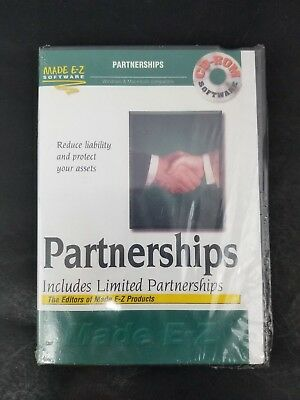 Made Ez Software - Made EZ Software Partnerships Includes Limited Partnerships Made E-Z Product New