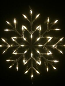 Christmas-Window-White-Snow-Flake-Light-35cm-X-35cm-Indoor-Use-Christmas-Lights