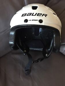 Bauer Lil' Sport Hockey helmet