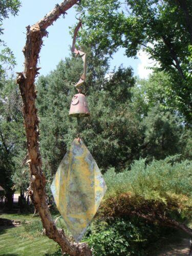"Paolo Soleri BIG FIN Wind Bell Replacement Fin 12"" Diamond Wind Catcher Sail #10"