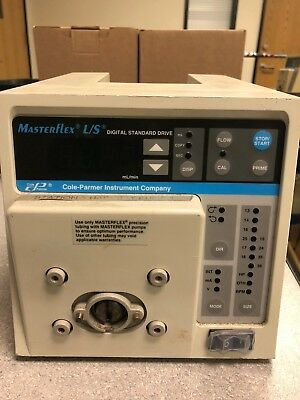 Cole Parmer Masterflex Ls Computerized Drive Peristaltic Pump 7523-50