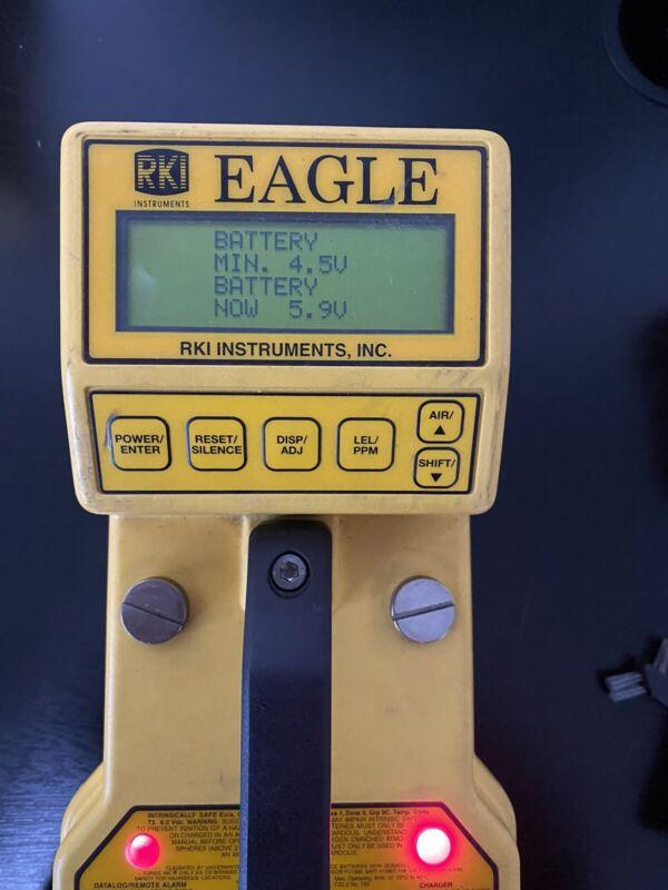 RKI Instruments Eagle Type Handheld Multi Gas Detector