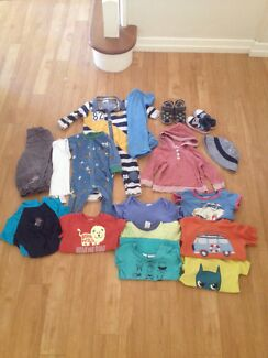 17 piece bundle of size 1 boys clothing Coorparoo Brisbane South East Preview