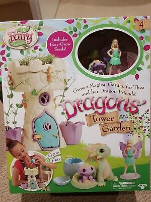My fairy garden Dragons Tower Gardens With Easy To Grow Seeds