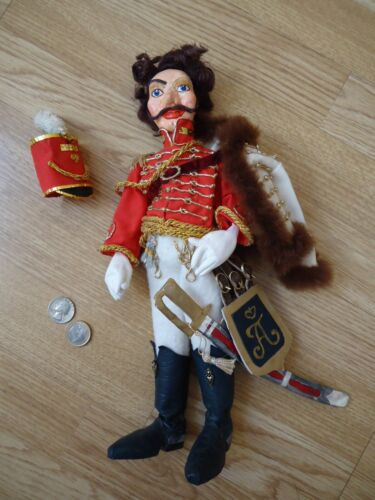 = 320mm ONE Very Nice HAND MADE Russian Hussar Doll =