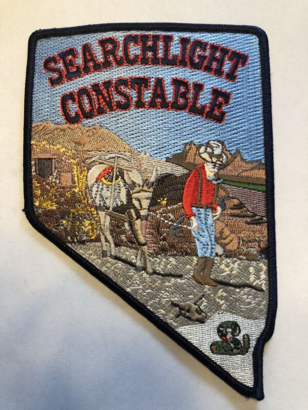 Searchlight Nevada Constable Police Patch