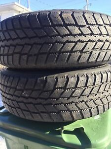 p215/70/15 inch Winter Tires on Rims / GOOD DEAL