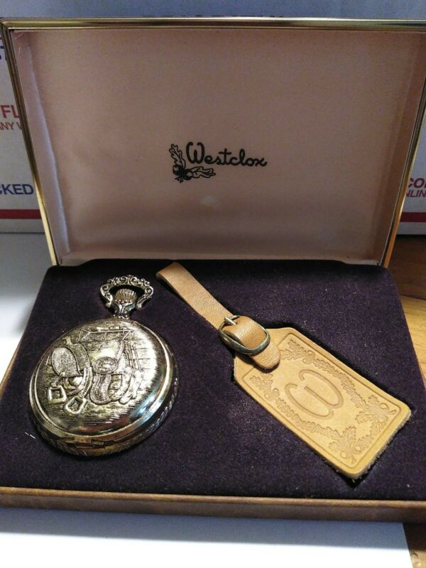 Westclox pocket watch