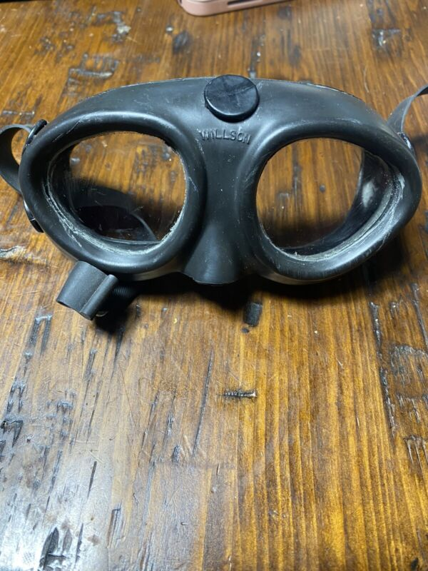 WILLSON RUBBER OVER-ALL GOGGLES TYPE X41 & GREAT CONDITION- STEAMPUNK,MOTORCYCLE