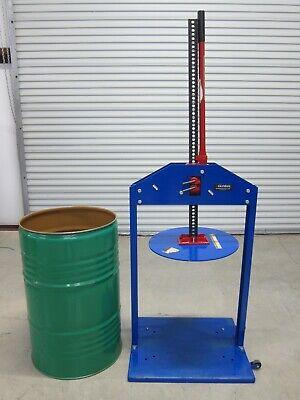 Manual Trash Compactor For 55-gallon Drum