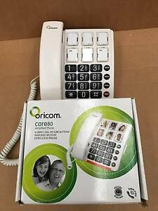 Oricom - CARE80 AMPLIFIED PHONE WITH PICTURE DIALLING Spotswood Hobsons Bay Area Preview