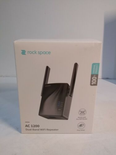 Rock Space ac 1200  WiFi Signal Booster AC750