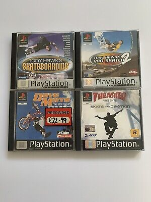 Tony Hawk's Bundle - Skateboarding & Pro Skater 2 & More - PlayStation 1 PS1 -