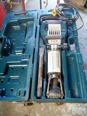 bosch gsh 16 professional demolition hammer breaker 110v with trolley case