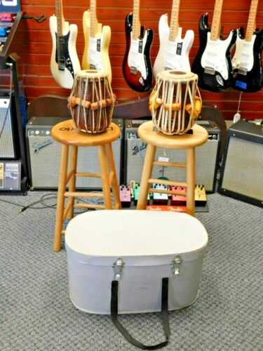 Tabla Drum set with Case! Get your Hippie Drum Circle!