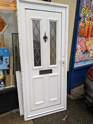 External Door aluminium used