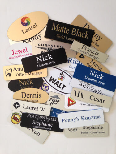 LOGO INSERTION FEE for Name Tags