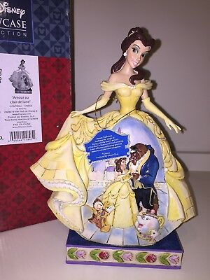 New Disney Traditions Jim Shore Belle Moonlit Enchantment Beauty and Beast NIB