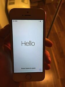 Gold iPhone 5s with virgin mobile
