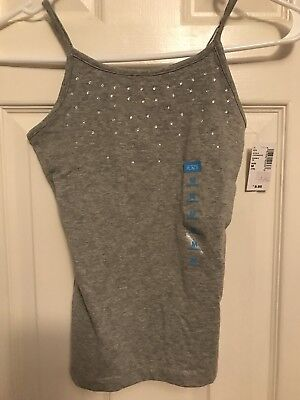 The Childrens Place Rhinestone Adorned Tank Size Med 7/8