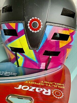 Blue **Brand New** Multi Color Multi Sport Youth 8 Helmet Pink Green