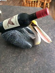Unique  Pelican Wine bottle holder Fathers Day