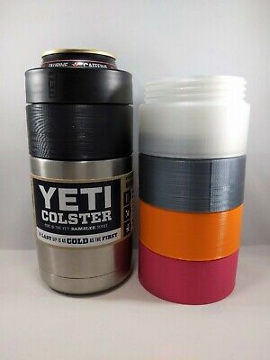 Pint 16 Oz (Yeti Colster 12 to 16 oz Rambler Can Adapter 1 Pint Koozie Cozy Fits RTIC)