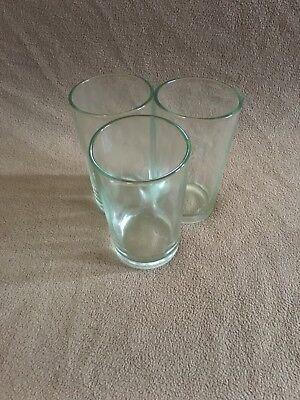 Set Of 3 Plain Shot/Drinking Glasses