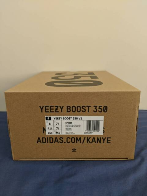 a14a3d685686a Adidas Yeezy 350 v2 Triple White 100% DS AUTHENTIC SIZE US 8 ...