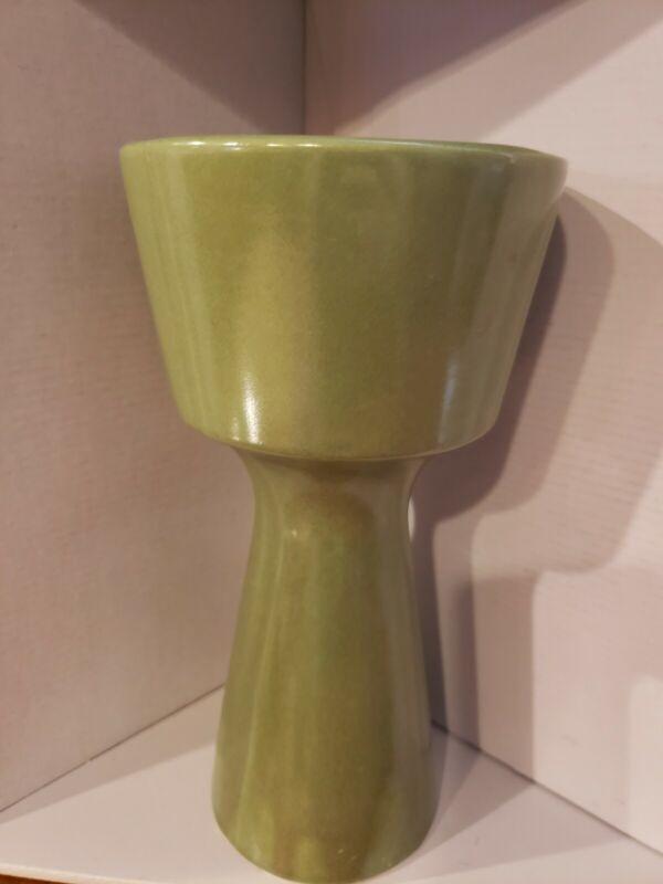 1960s Vintage Abstract Modernist Ceramic Flower Vase