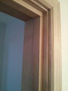 135mm Solid European Oak Door Casing/ Frame Set