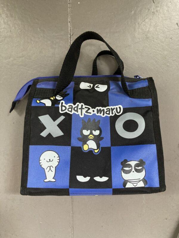 Vintage 1998 Sanrio Badtz Maru Lunch Tote Bag Purse Kawaii 1993