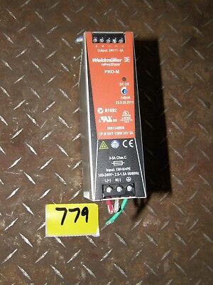 Weidmuller Pro-m Cpm Snt Power Supply N1692
