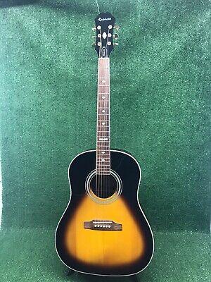 Epiphone Aj 18S Acoustic Jumbo Guitar By Gibson Sunburst 6-string