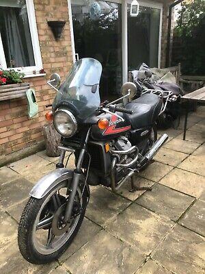 Honda cx500 restoration project