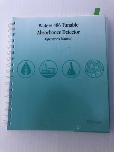 Waters 486 Tunable Absorbance Detector Operator