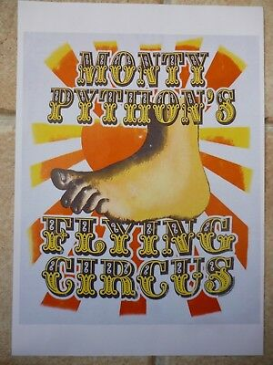 "MONTY PYTHON'S FLYING CIRCUS, TV ADVERT FLYER SIZE A4 8.2"" X 11.7"""